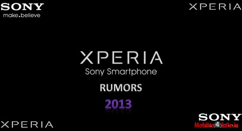 Sony Android Smartphones Rumour