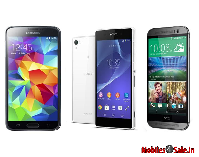 Xperia Z2 vs Galaxy S5 vs HTC M8