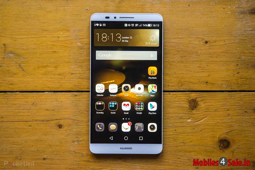 The Huawei Mate 8