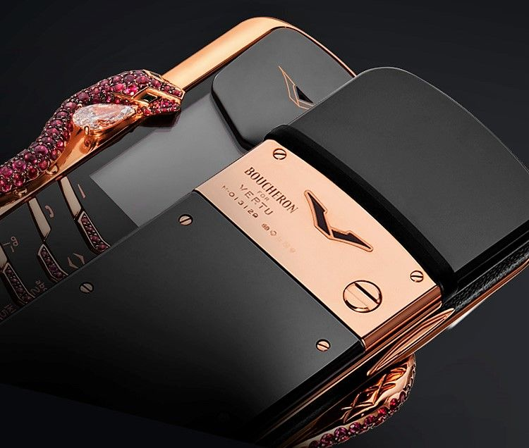 Vertu Signature Cobra Limited Edition Worlds Most Expensive Phone