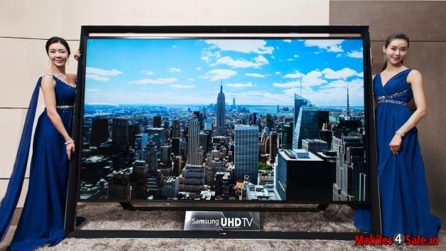 Sasmung's World's Largest Ultra HD TV