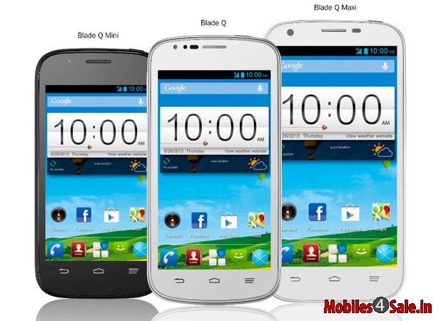 ZTE Blade Mini, Regular and Maxi