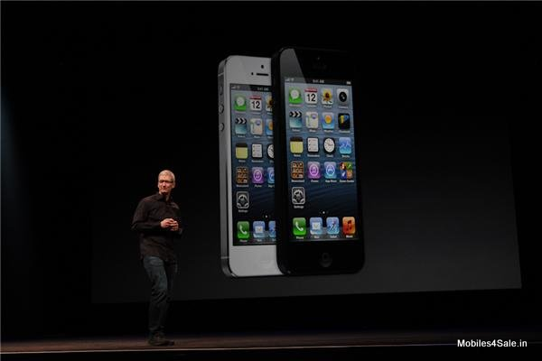 iPhone 5 Launched